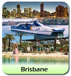 Brisbane Transfers from Gold Coast Airport