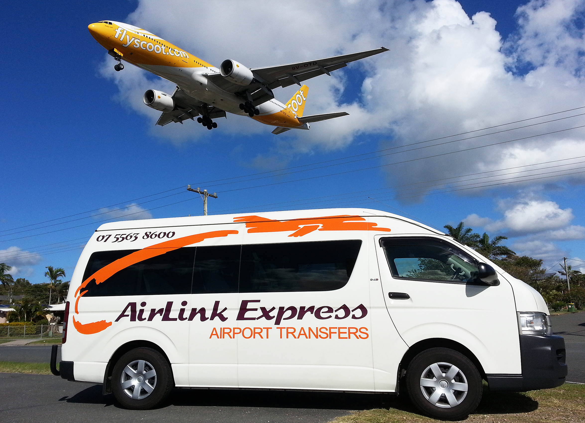 Airlink Express Airport Transfers Bus